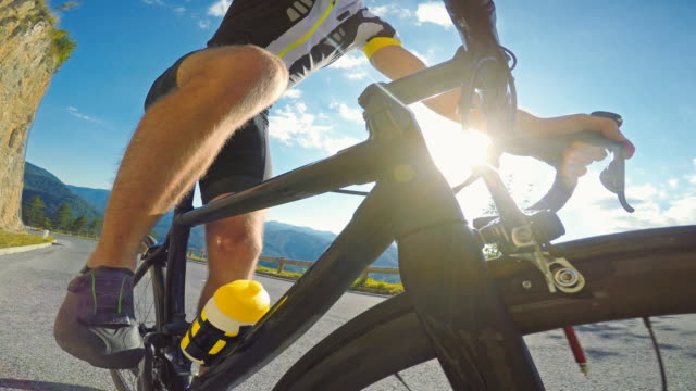 road cycling - racing bicycle stock videos and b-roll footage