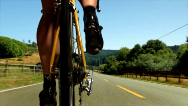road cyclist - pedal stock videos & royalty-free footage