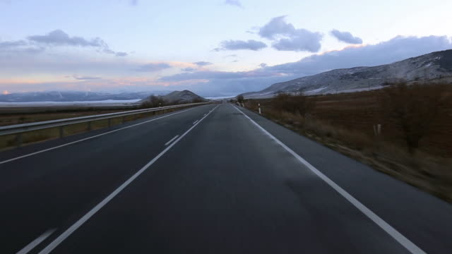 road in a straight line - 30 seconds or greater stock videos & royalty-free footage