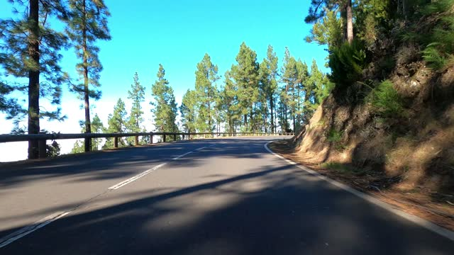 road in teide national park, tenerife, canary islands, spain - driving plate stock videos & royalty-free footage