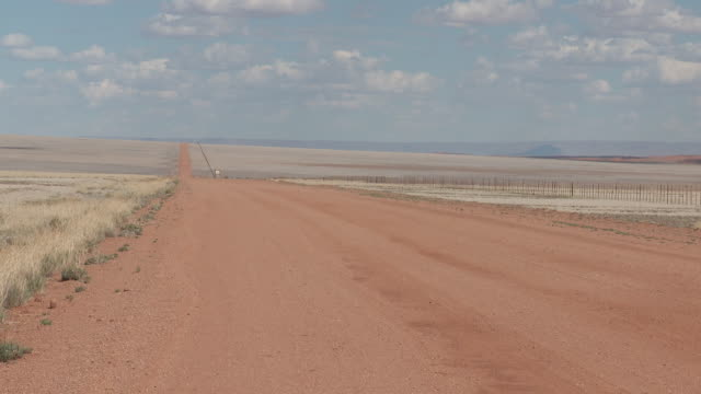 Road in the plain