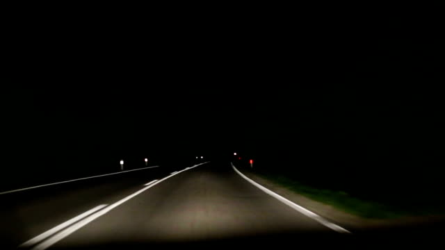 Road night