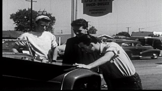 1952 - road runners - 6 of 11 - prelinger stock videos & royalty-free footage