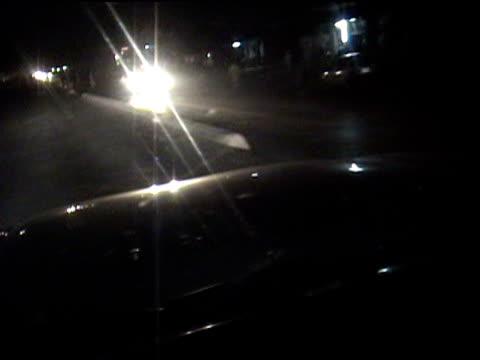 road seen from inside car federally administered tribal areas pakistan audio - beifahrersitz oder rücksitz stock-videos und b-roll-filmmaterial