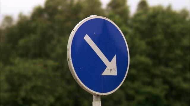 A road sign Sweden.