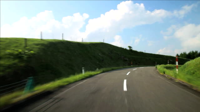 Road to mountain.