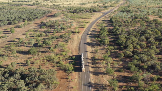 road train - queensland stock videos & royalty-free footage