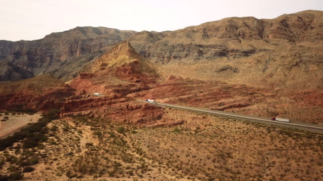 road trip along the canyons in utah, western united states - utah video stock e b–roll