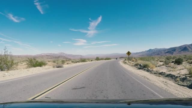 road trip in the united states - joshua tree national park - joshua tree national park stock videos & royalty-free footage