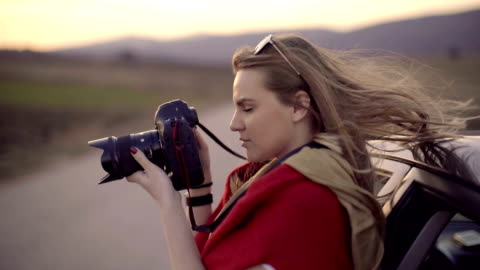road trip photography - photographer stock videos & royalty-free footage