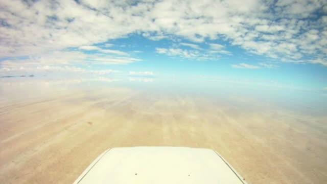 Road trip Point of view through Salar de Uyuni, Bolivia