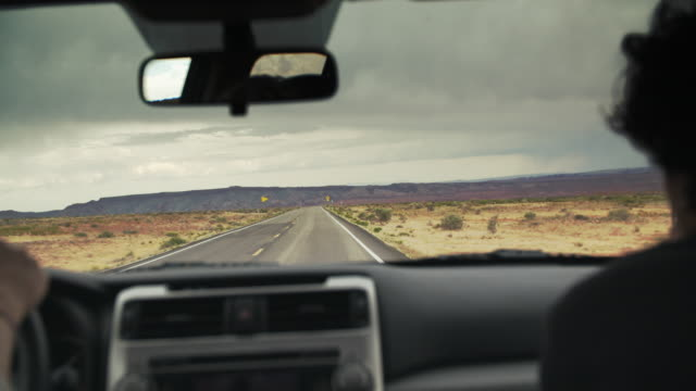 road trip through monument valley, utah - national park stock videos & royalty-free footage