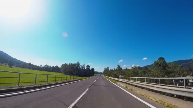 road trip to europe - kilometre stock videos & royalty-free footage