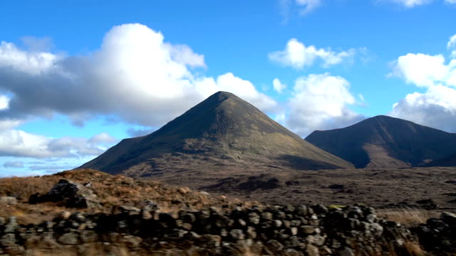 SLO MO Road Trip to Isle of Skye and the Highlands View, Scotland, UK