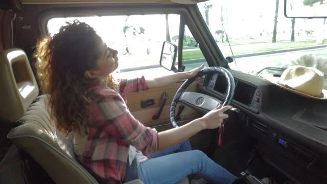 road trip - van vehicle stock videos and b-roll footage