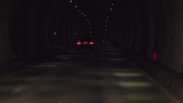 road tunnel - tail light stock videos & royalty-free footage