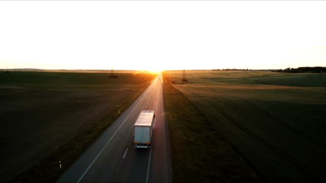 road - commercial land vehicle stock videos & royalty-free footage