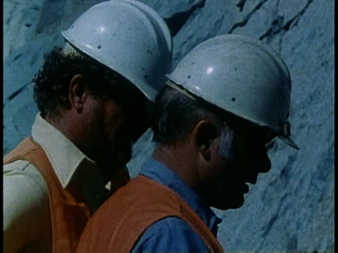 1978 montage road workers studying maps and talking / united states - 1978 stock videos & royalty-free footage