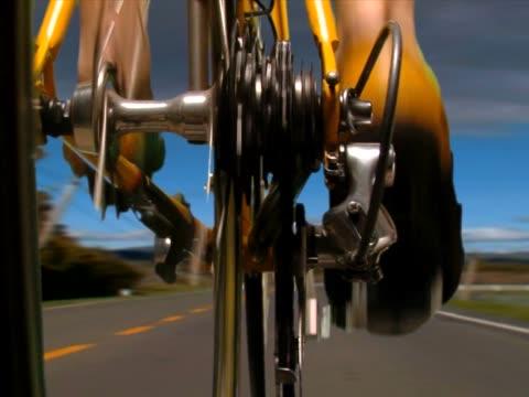 vídeos de stock e filmes b-roll de roadbikepal43 - sapato