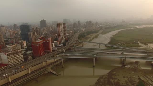 Vägar och föroreningar, Taipei av drönare