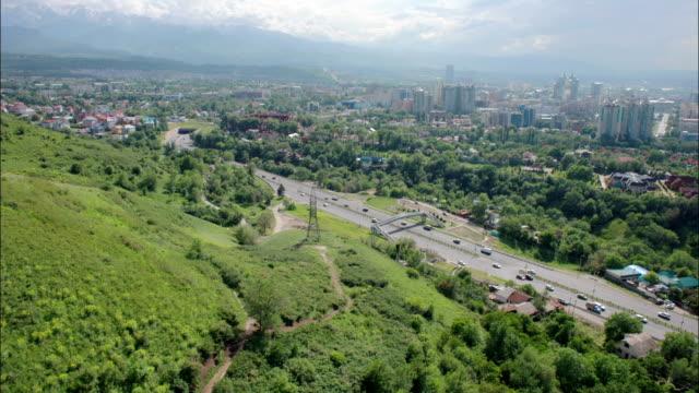 roadway timelapse - kazakhstan stock videos and b-roll footage