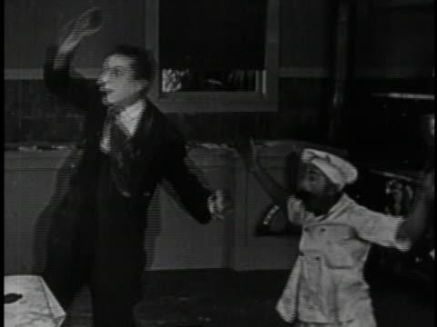 1920 MONTAGE Roaring Twenties comedy