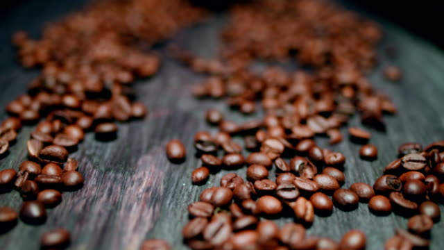 roasted coffee beans - sack stock videos & royalty-free footage