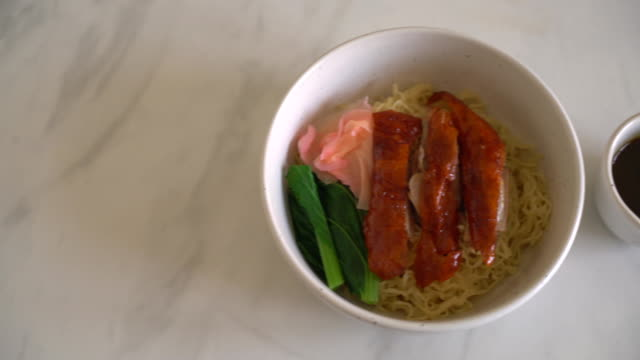 roasted duck noodles