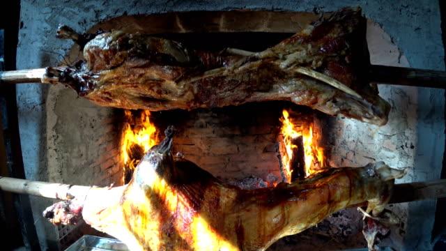 roasted lamb kebab