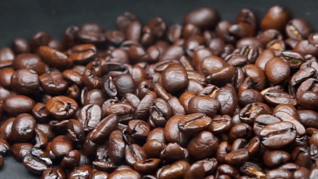 roasting coffee beans smoke rising - coffee drink stock videos & royalty-free footage