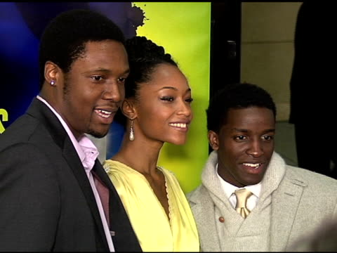 Rob Brown Yaya DaCosta and Elijah Kelly at the 'Take the Lead' Los Angeles Screening to Benefit LA's Best at Grauman's Chinese Theatre in Hollywood...