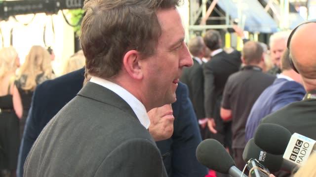 broll rob brydon and lee mack at house of fraser british academy television awards - british academy television awards stock videos & royalty-free footage
