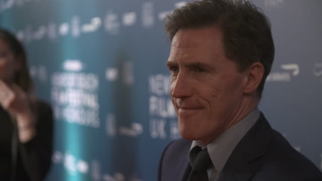 rob brydon at newport beach film festival awards at the langham hotel on february 7, 2019 in london, england. - film festival stock videos & royalty-free footage