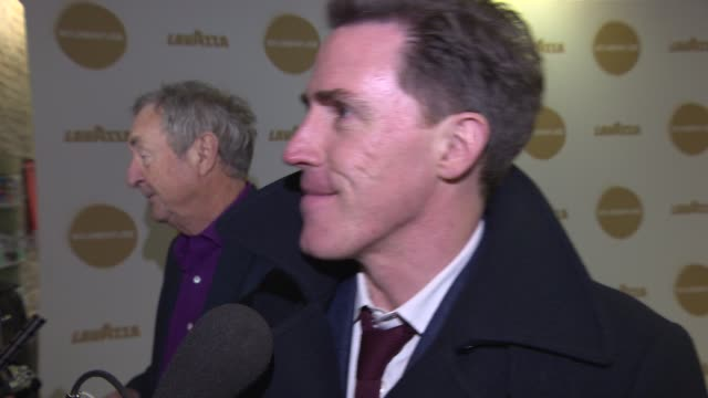 interview rob brydon on rugby top gear jeremy clarkson one direction going down to 4 zayn malik being in 'cinderella' at roundhouse gala on march 19... - jeremy clarkson stock videos & royalty-free footage
