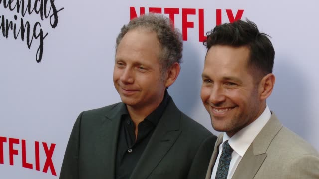 Rob Burnett and Paul Rudd at A Netflix Original Film The Fundamentals Of Caring Screening at ArcLight Hollywood on June 23 2016 in Hollywood...