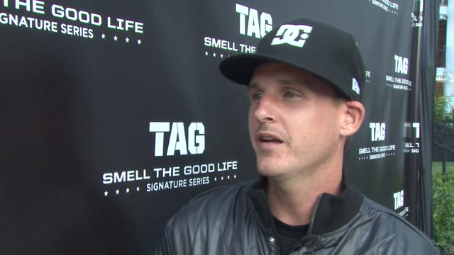 Rob Dyrdek on being at the TAG Signature Series launch party on the TAG Signature Series on how he got involved with the Signature Series on why his...