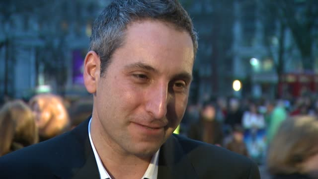 rob letterman at the monsters vs aliens uk premiere at london - letterman stock videos & royalty-free footage