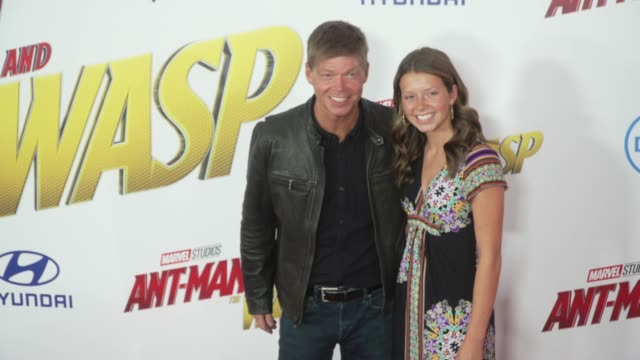 Rob Liefeld at the 'AntMan and the Wasp' World Premiere at the El Capitan Theatre on June 25 2018 in Hollywood California