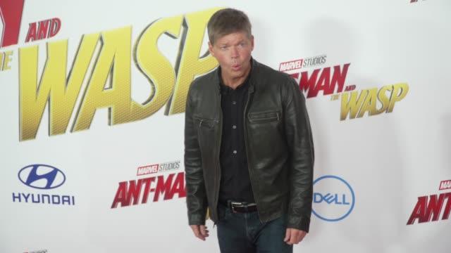 Rob Liefeld at the AntMan and the Wasp World Premiere at the El Capitan Theatre on June 25 2018 in Hollywood California