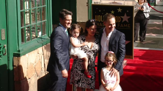 rob lowe and chad lowe at rob lowe honored with star on the hollywood walk of fame at hollywood walk of fame on december 08, 2015 in hollywood,... - chad lowe stock videos & royalty-free footage