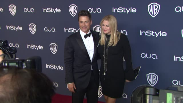 Rob Lowe and Sheryl Berkoff at 2014 InStyle And Warner Bros 71st Annual Golden Globe Awards PostParty at The Beverly Hilton Hotel on in Beverly Hills...
