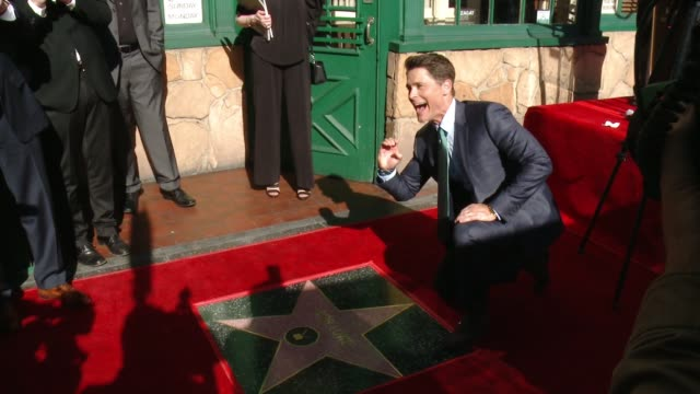 Rob Lowe at Rob Lowe Honored With Star On The Hollywood Walk Of Fame at Hollywood Walk Of Fame on December 08 2015 in Hollywood California
