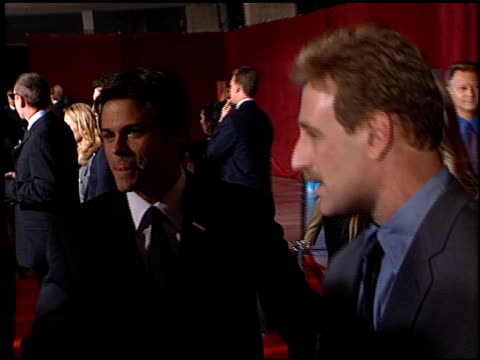 Rob Lowe at the 2001 Emmy Awards at the Shubert Theater in Century City California on November 4 2001