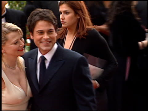 Rob Lowe at the 2001 Golden Globe Awards at the Beverly Hilton in Beverly Hills California on January 21 2001