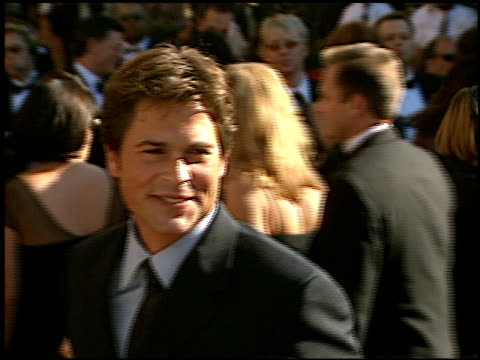 Rob Lowe at the 2002 Emmy Awards at the Shrine Auditorium in Los Angeles California on September 22 2002