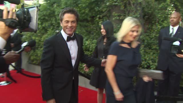 Rob Lowe at the 2011 Vanity Fair Oscar Party Arrivals at Hollywood CA