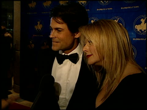 Rob Lowe at the Carousel of Hope Ball at the Beverly Hilton in Beverly Hills California on October 28 2000