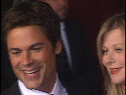 Rob Lowe at the Emmy Awards 2001 at Shubert Theater Century City in Century City CA