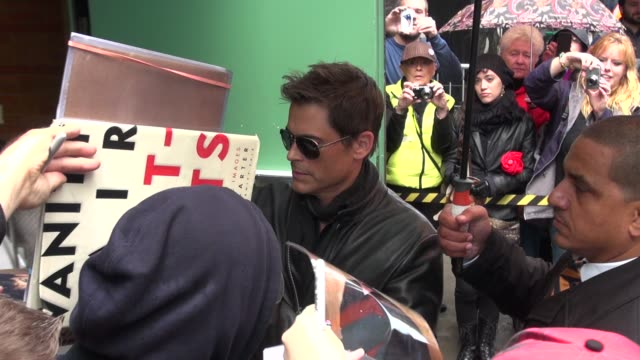 rob lowe at the 'good morning america' studio in new york ny on 10/9/12 - rob lowe stock videos & royalty-free footage