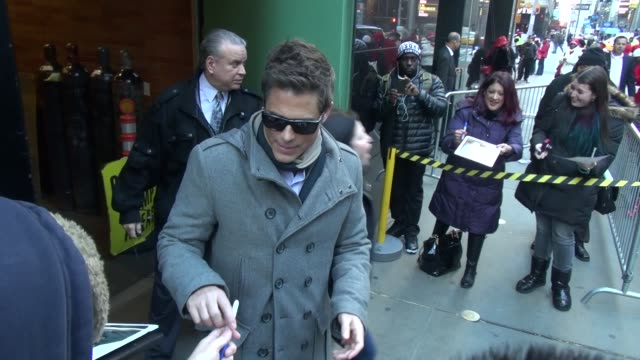 Rob Lowe at the 'Good Morning America' studio in New York NY on 1/10/13